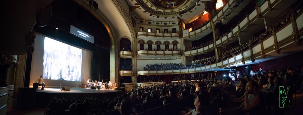 Teatro de la Ciudad Esperanza Iris. 15 de abril del 2016. Foto: Delia Martínez.